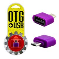 تبدیل OTG Micro Usb پلاستیکی پک دار