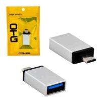 تبدیل OTG Micro Usb فلزی پک پلاستیکی