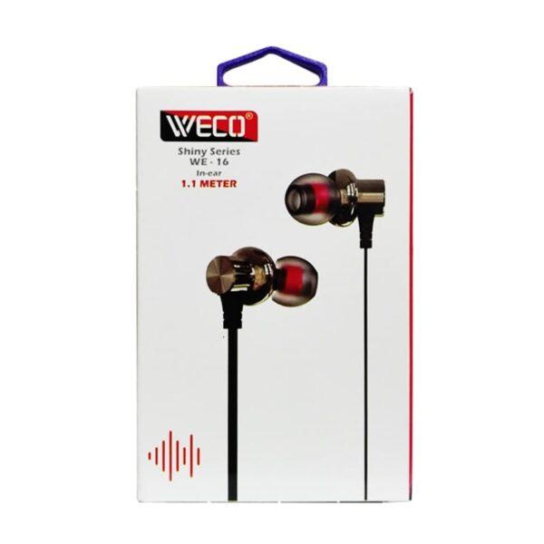 هندزفری WECO WE-16