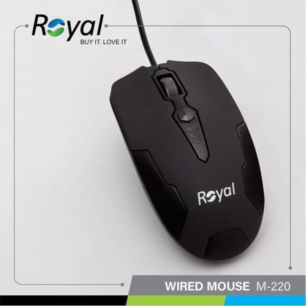 موس سیم دار Royal R-M220