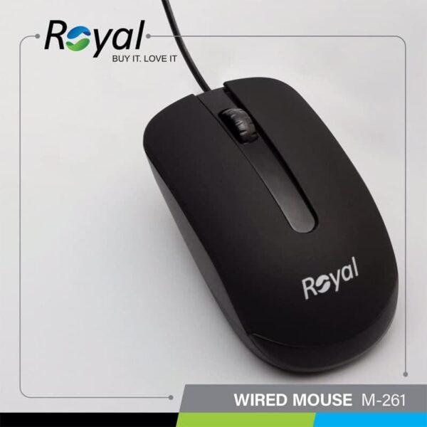 موس سیم دار Royal R-M257