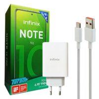 شارژر 33 وات به همراه کابل تایپ سی Infinix Note 10 Pro